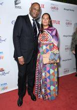 Jon Platt, Angela Platt The African American Film Critics Association's 11th Annual AAFCA Awards held at Taglyan Cultural Complex