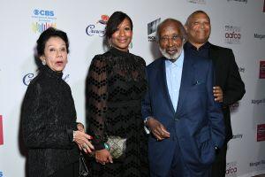 Jacqueline Avant, Nicole Avant, Clarence Avant, Reginald Hudlin The African American Film Critics Association's 11th Annual AAFCA Awards held at Taglyan Cultural Complex