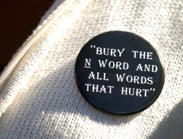 """(KG) CD11NWORD -- The Manual High School Student Leadership Team hosted a mock funeral to bury the """"N"""" word Wednesday during a school assembly. The goal of the event was to educate students about the history and impact of words that degrade or demean. Kar"""
