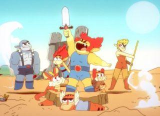 Thundercats on Cartoon Network