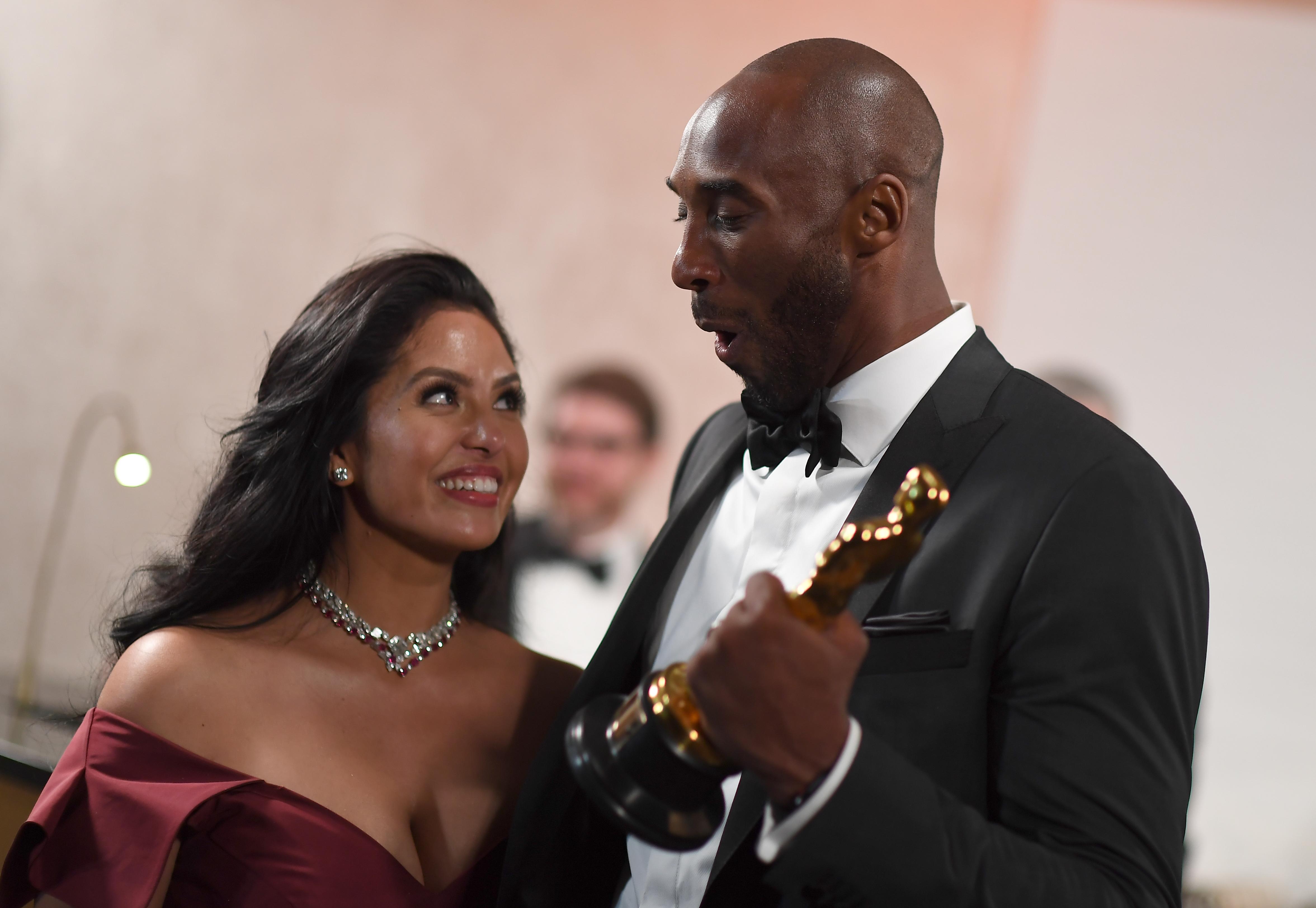 Vanessa Bryant & Kobe Bryant Together