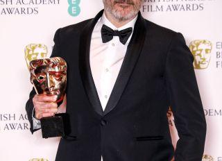Joaquin Phoenix at the BAFTAs