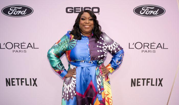 Loni Love attends Essence Black Women In Hollywood