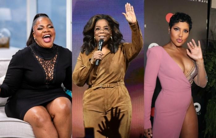 Mo'nique, Oprah, Toni Braxton