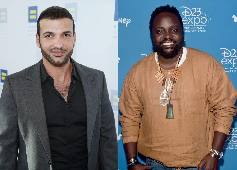 Haaz Sleiman and Bryan Tyree Henry