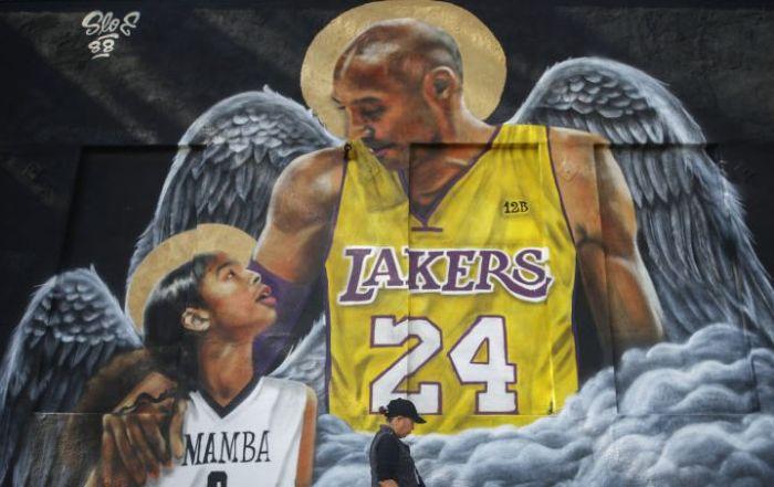 Los Angeles Lakers Legend Kobe Bryant Memorialized Across L.A. In Murals