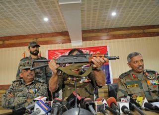 Three JeM Terrorists Including Chief Masood Azhar's Nephew Talha Rasheed Killed By Security Forces In Pulwama