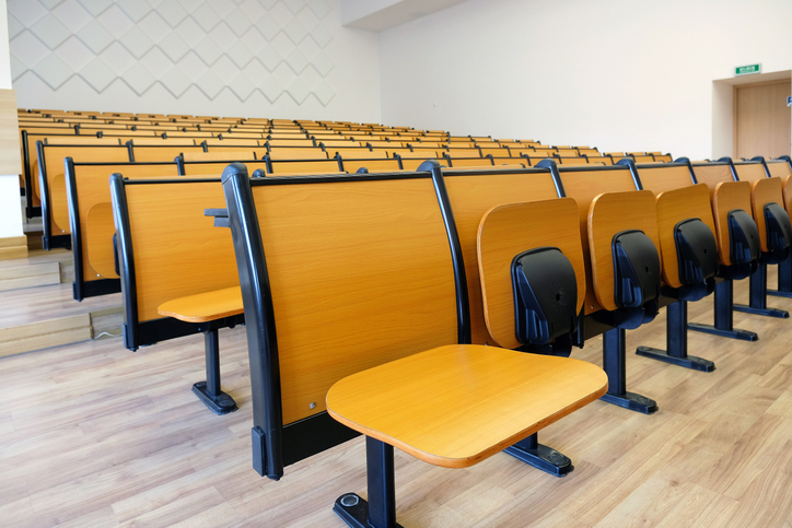 Empty Chairs Ina Lecture Hall