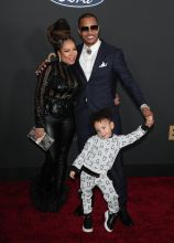 Tiny, T.I. and Heiress Harris at The 51st NAACP Image Awards
