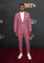 Trevor Jackson at The 51st NAACP Image Awards
