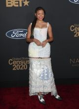 Storm Reid at The 51st NAACP Image Awards