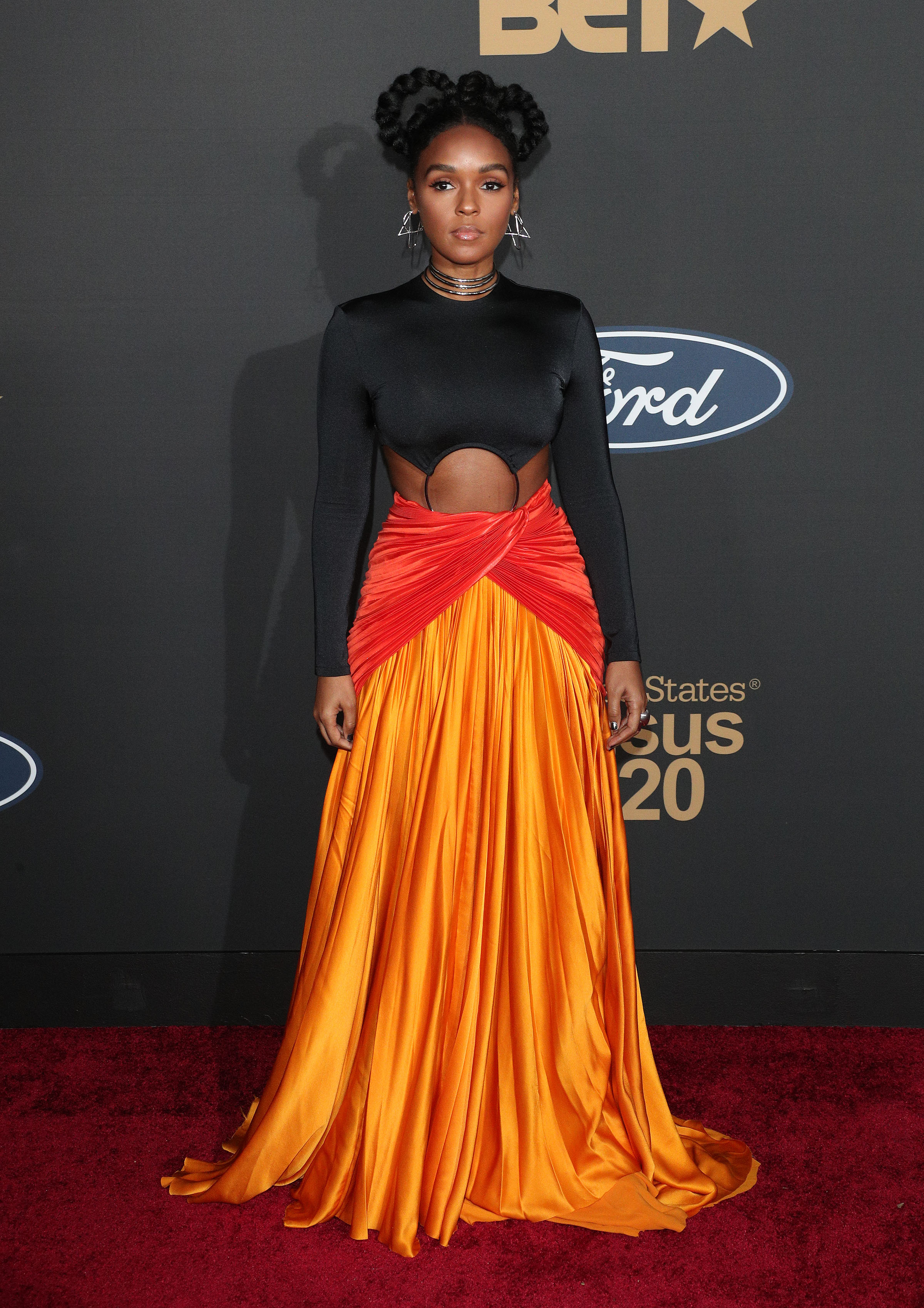 Janelle Monáe at The 51st NAACP Image Awards