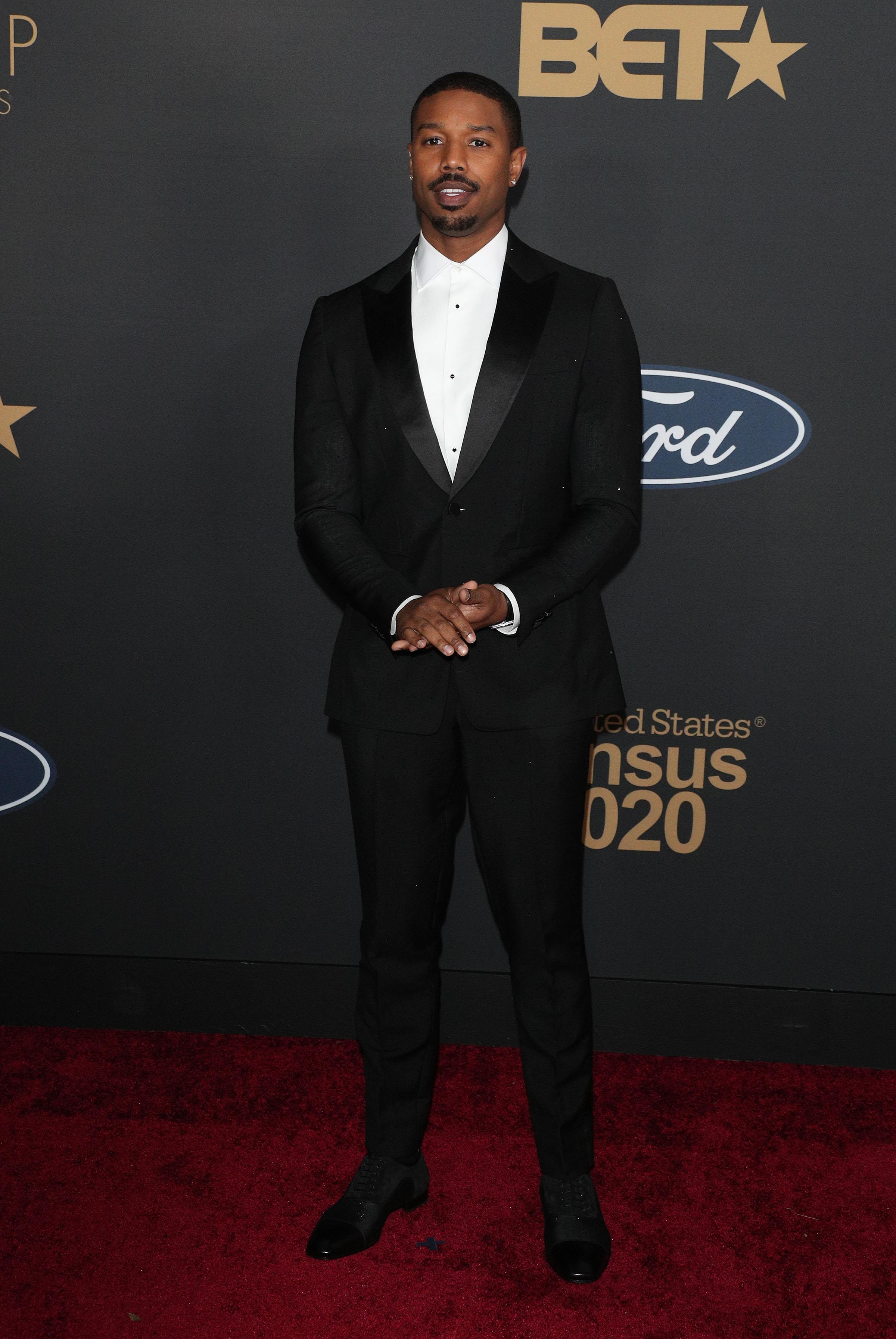 Michael B. Jordan at The 51st NAACP Image Awards