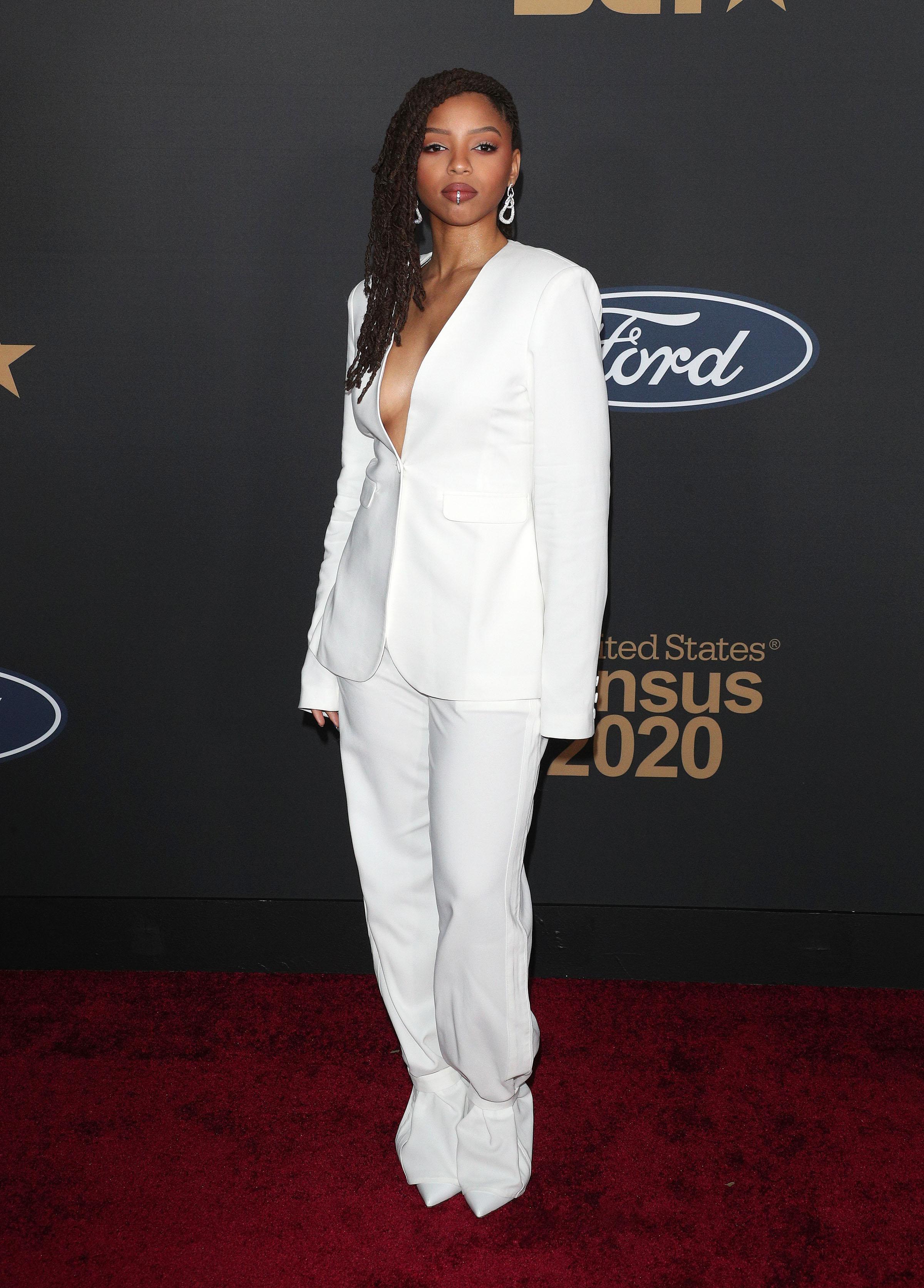 Chloe Bailey at The 51st NAACP Image Awards