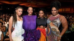 Rihanna , Storm Reid, Janelle Monáe and Lizzo at The 51st NAACP Image Awards