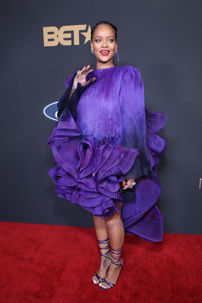 Rihanna accepts the Presidential Award at The 51st NAACP Image Awards