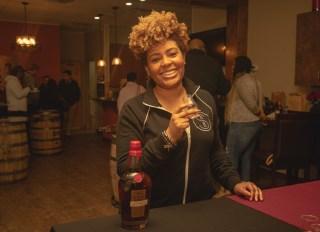Samara Rivers Black Bourbon Society Maker's Mark