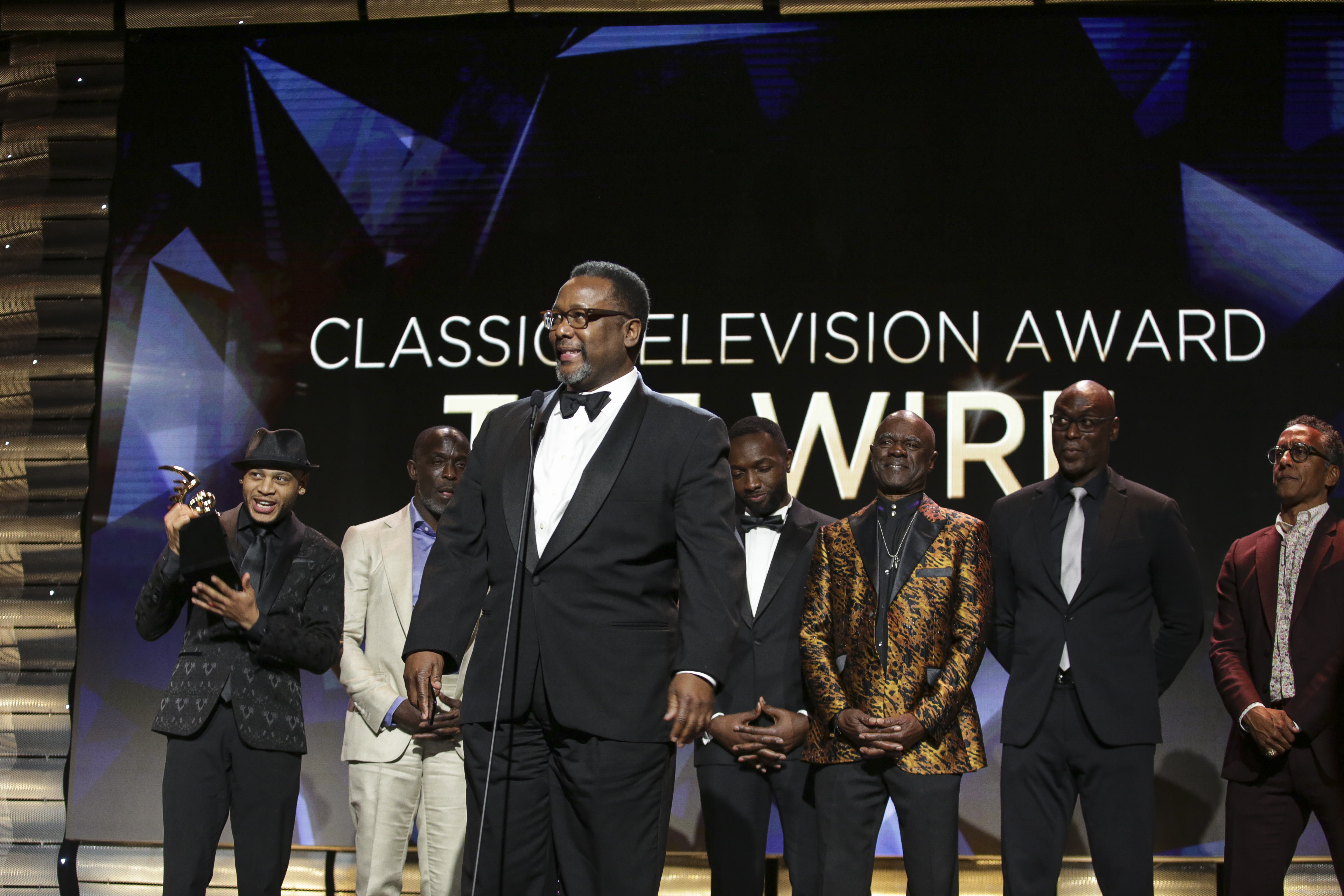 Wendell Pierce and cast of The Wire 4th Annual American Black Film Festival Honors Awards