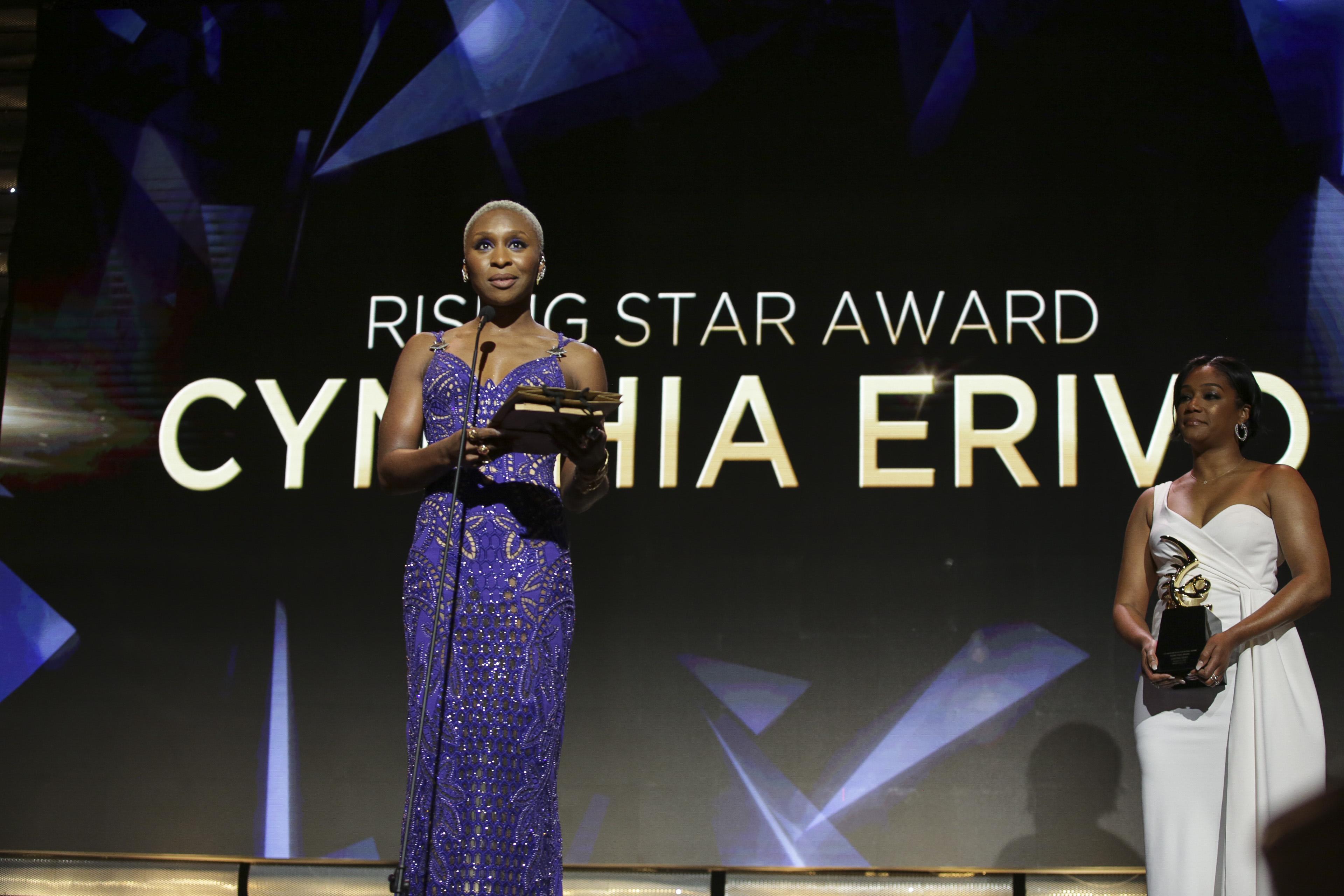 Cynthia Erivo and Tiffany Haddish 4th Annual American Black Film Festival Honors Awards