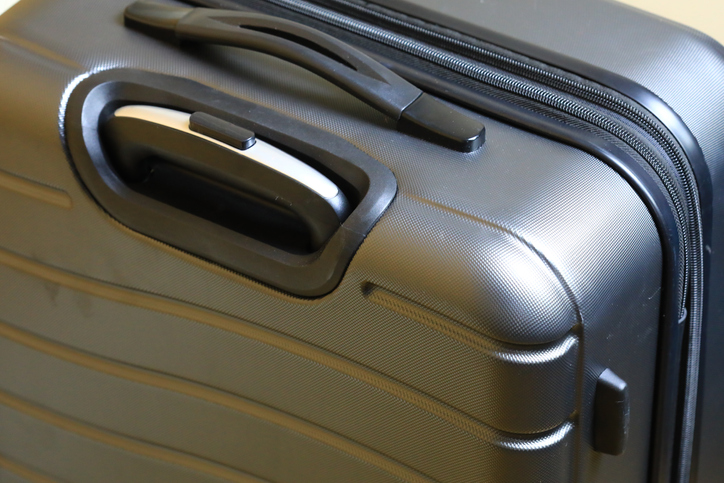 Close-up of a suitcase luggage bag