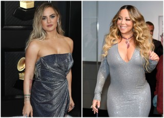 Jojo and Mariah Carey met in Vegas this weekend