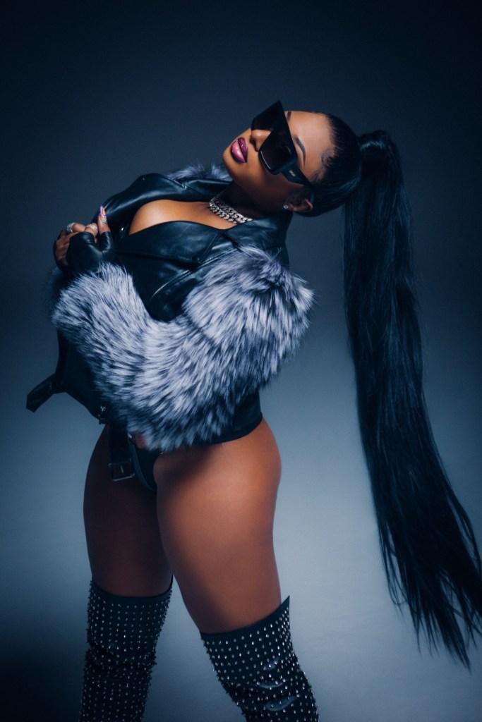 "Meg Thee Stallion ""B.I.T.C.H."" promo pic"