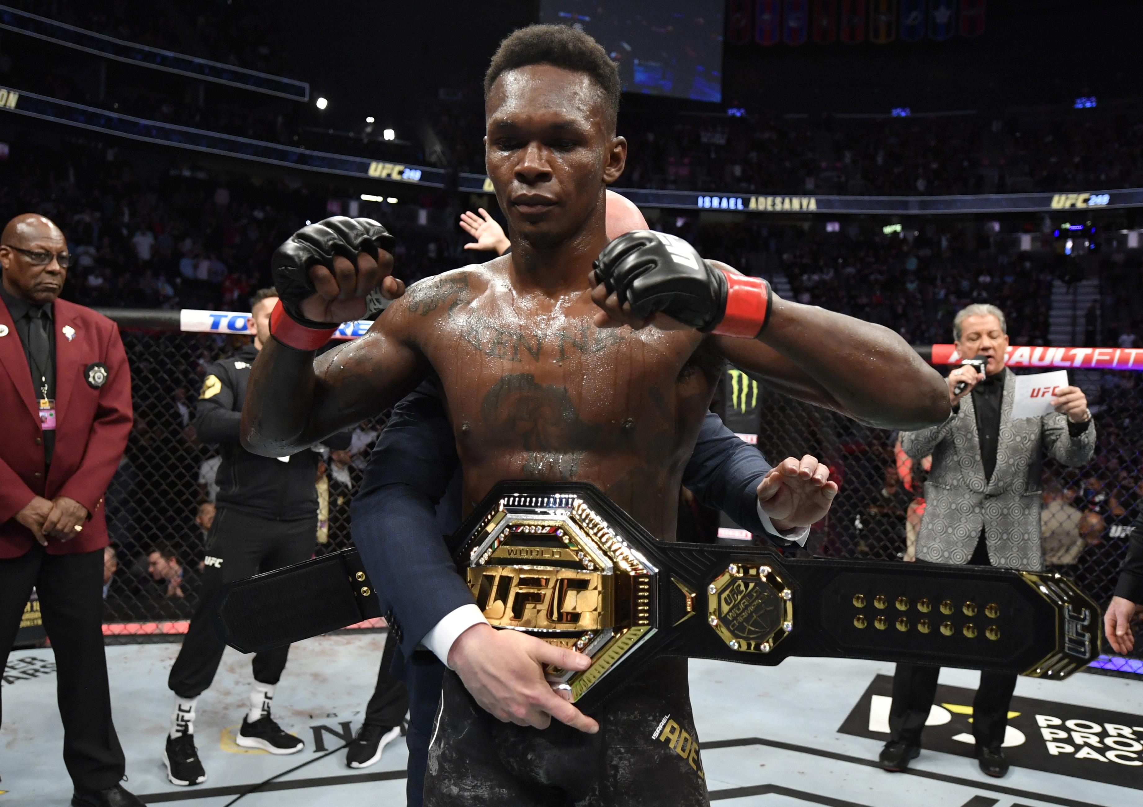 Israel Adesanya UFC 248