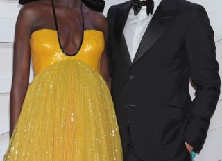 Jodie Turner-Smith and Joshua Jackson at the EE British Academy Film Awards 2020 - VIP Arrivals