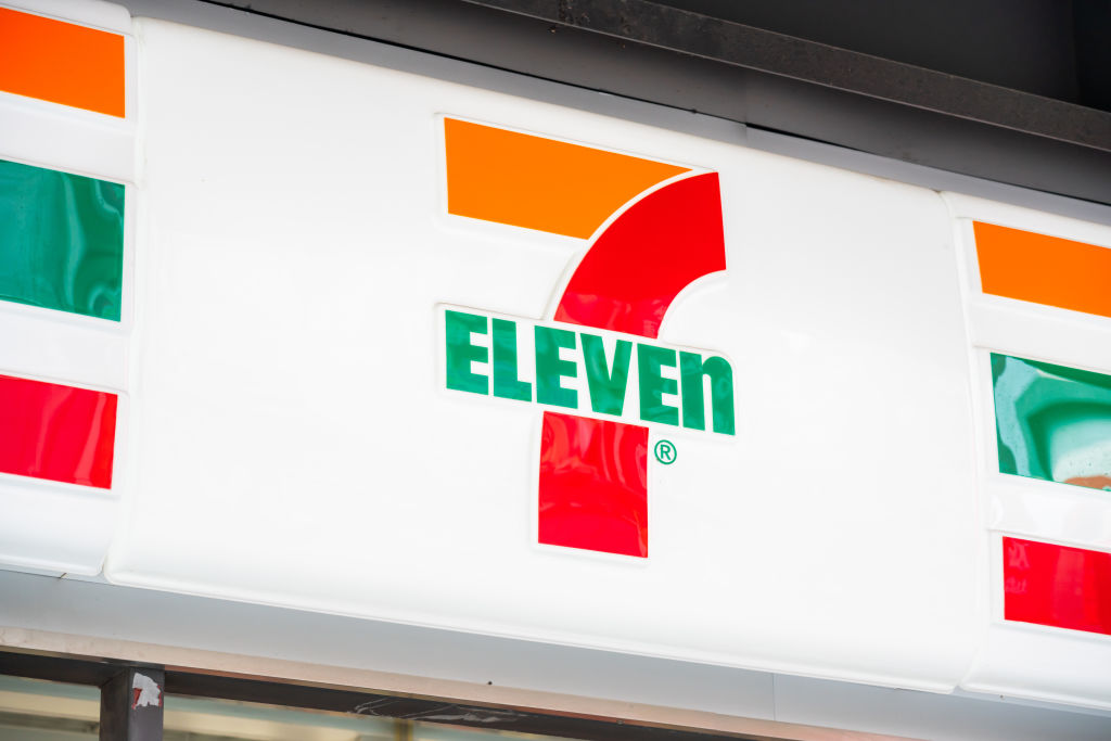Japanese-U.S. international convenience store chain 7-Eleven...