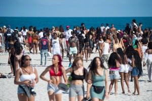 Miami Beach Spring Break Coronavirus