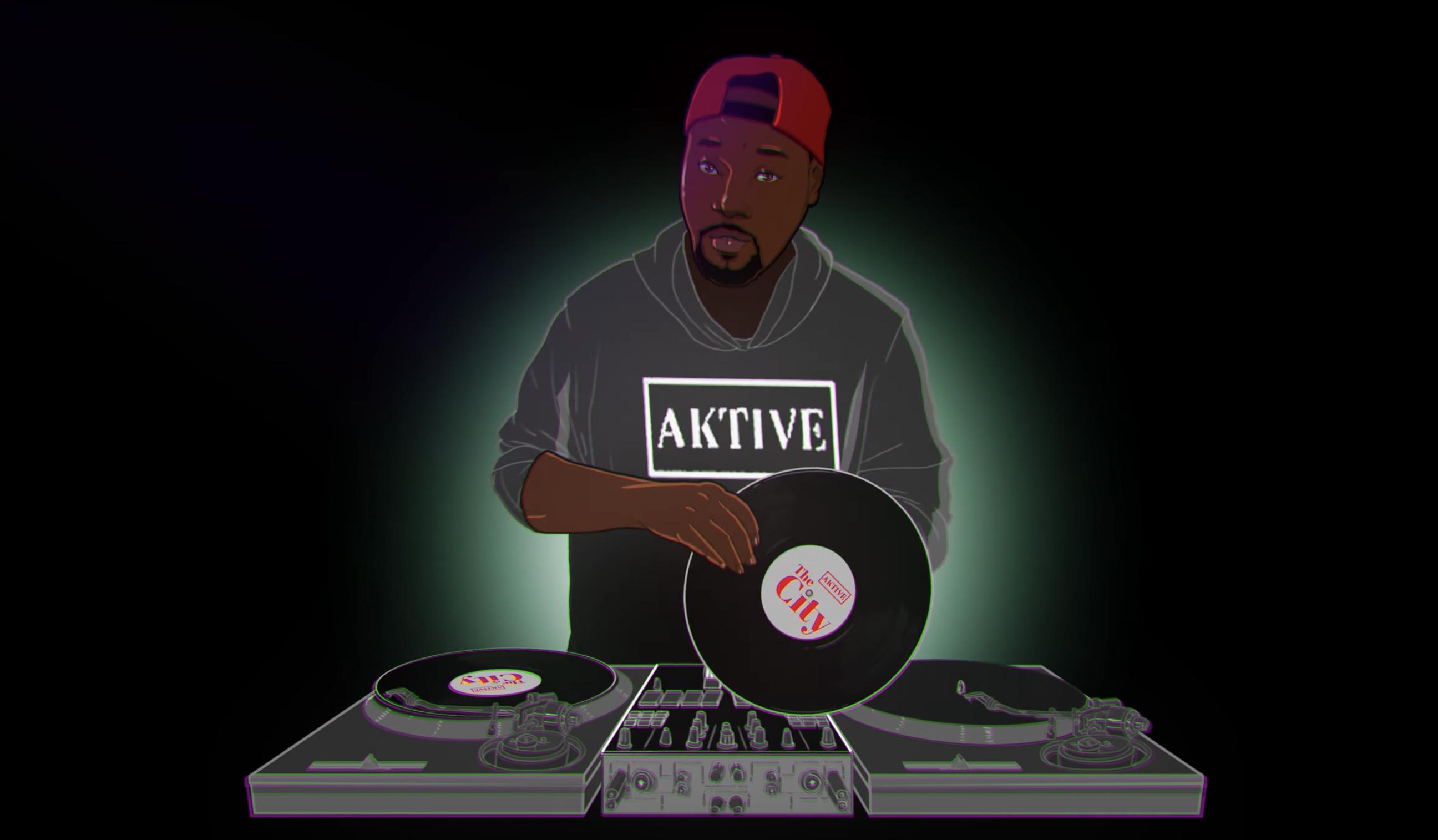 "DJ Aktive ""The City"" Common Bri Steves, Freeway, DJ Jazzy Jeff"