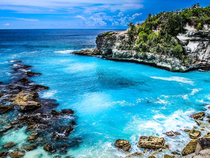 Blue Lagoon. Nusa Ceningan. Bali, Indonesia