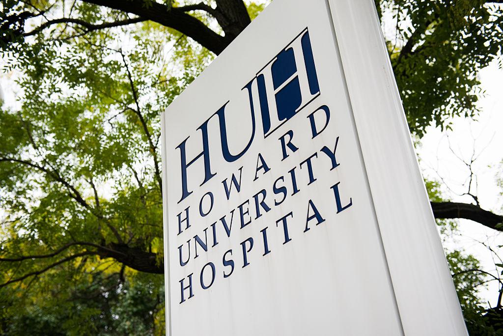 WASHINGTON, DC - OCTOBER 3: Howard University Hospital is pict