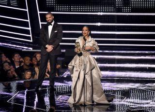 Drake Rihanna MTV Awards