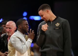 Kevin Hart & Steph Curry