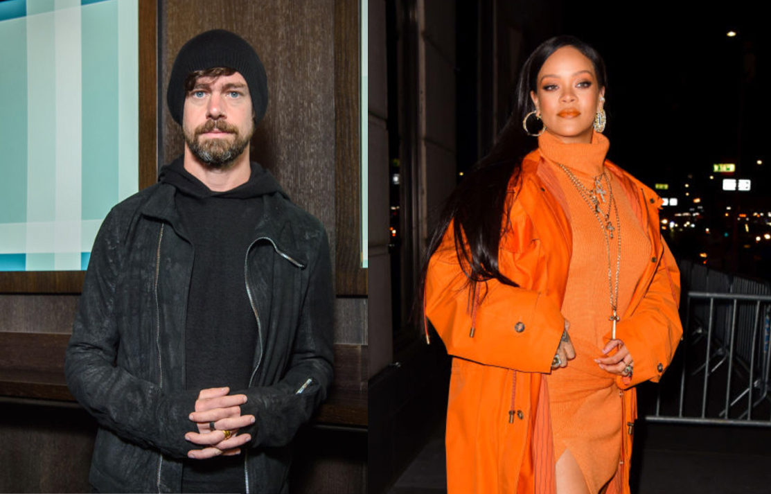 Rihanna Jack Dorsey