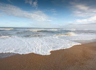 Beach Seascape Backgrounds Copy Space