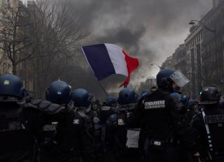 Act 70 Of The Yellow Vests In Paris