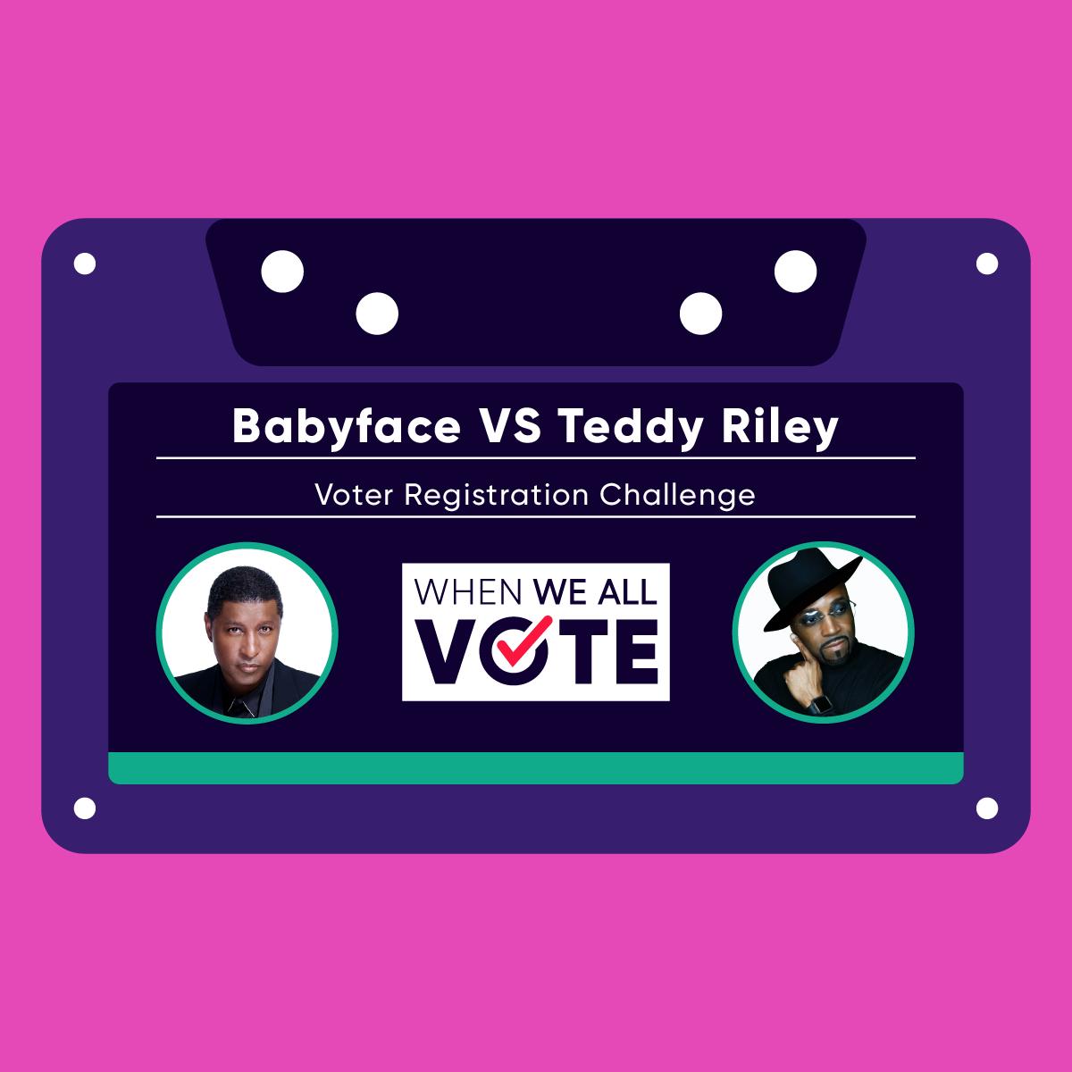 Teddy Riley vs Babyface When We All Vote