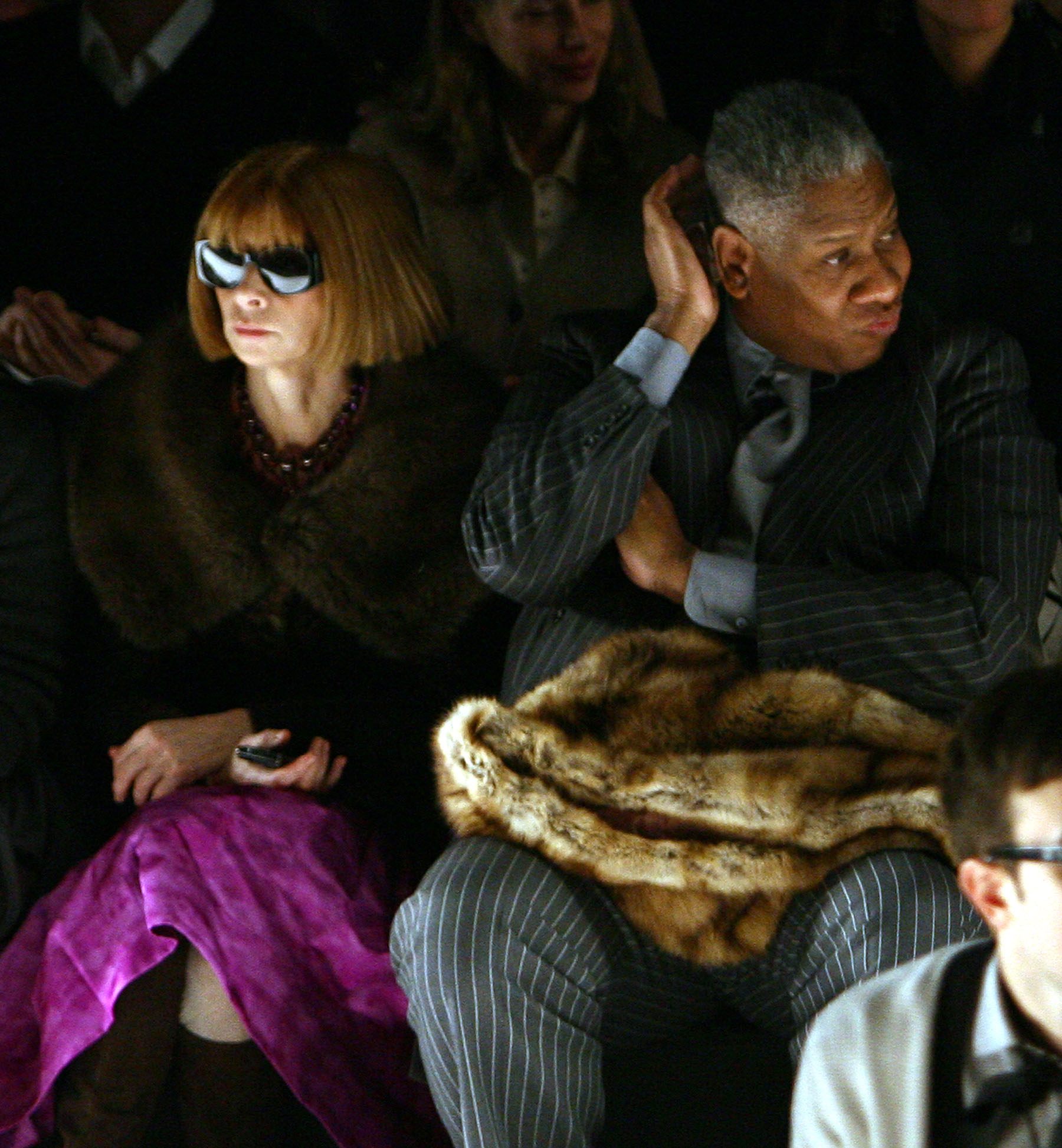 Anna Wintour and André Leon Talley