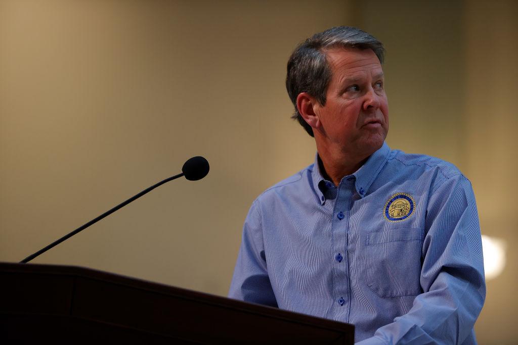 Georgia Governor Brian Kemp Holds Coronavirus Press Conference