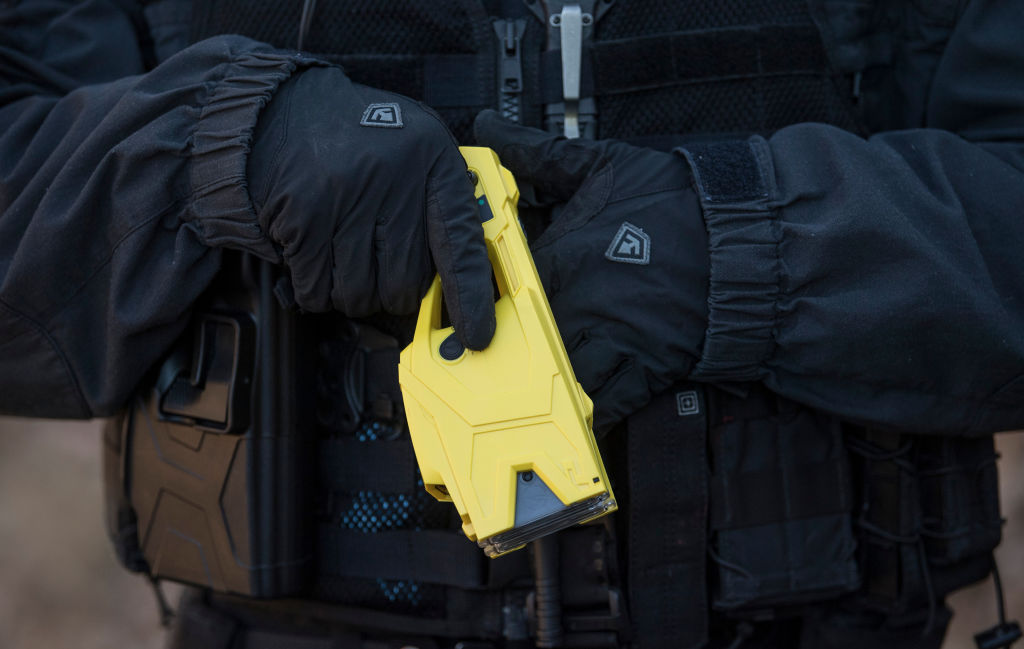 Hessian police rely on Taser