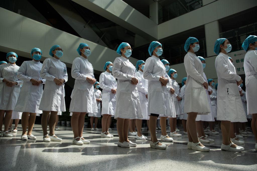 CHINA-HEALTH-VIRUS-NURSES