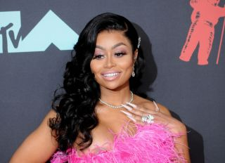 Blac Chyna (Angela Renée White) attends the 2019 MTV Video...