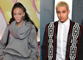 Winnie Harlow and Kyle Kuzma