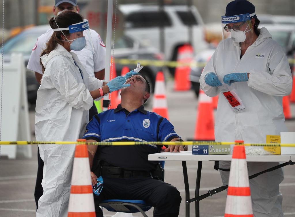 Florida Governor Ron DeSantis Holds Coronavirus Press Briefing
