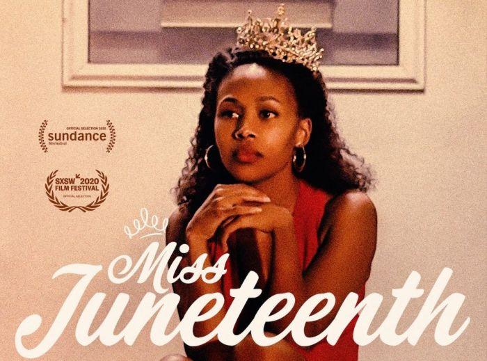 Miss Juneteenth poster