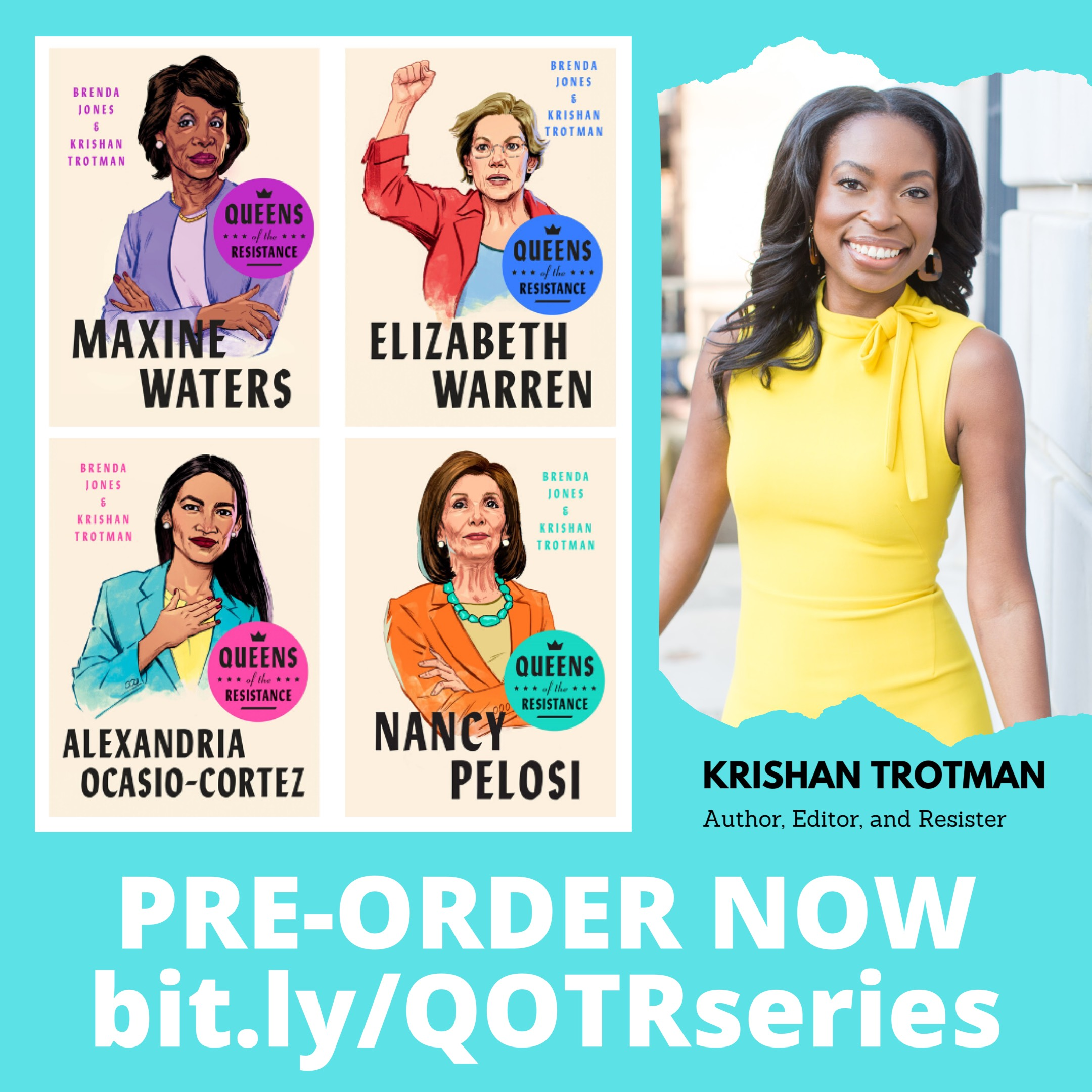 "Krishan Trotman, ""Queens of the Resistance"""