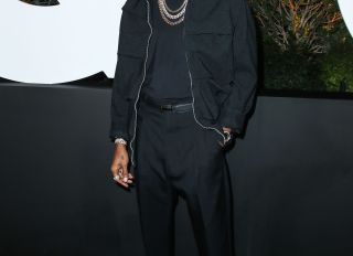 Singer 6Lack arrives at the 2019 GQ Men Of The Year Party held at The West Hollywood EDITION Hotel on December 5, 2019 in West Hollywood, Los Angeles, California, United States.