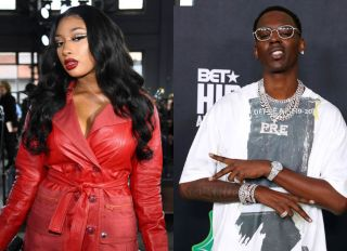 Megan Thee Stallion and Young Dolph